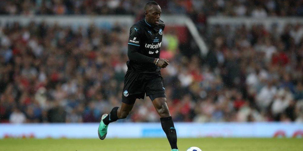 Usain Bolt volverá a probar suerte en el futbol