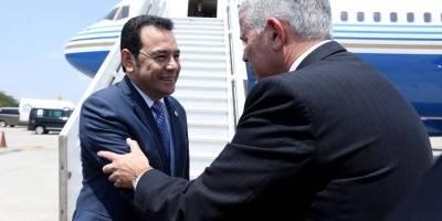 viaje del presidente Jimmy Morales a Israel