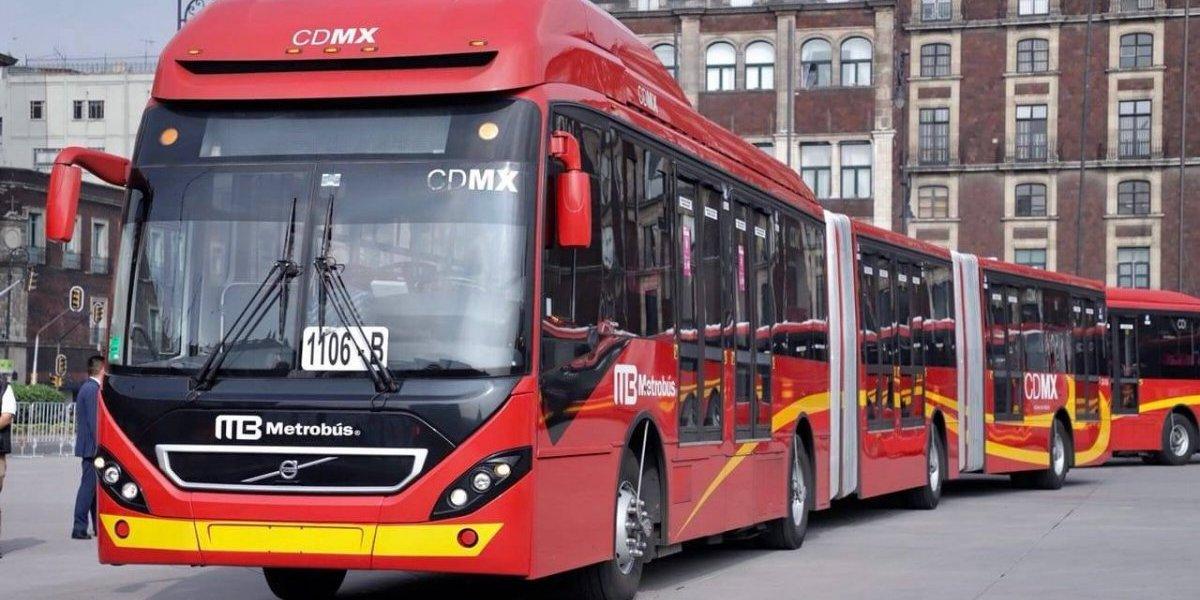 Refuerzan servicio en el Metrobús con 66 unidades