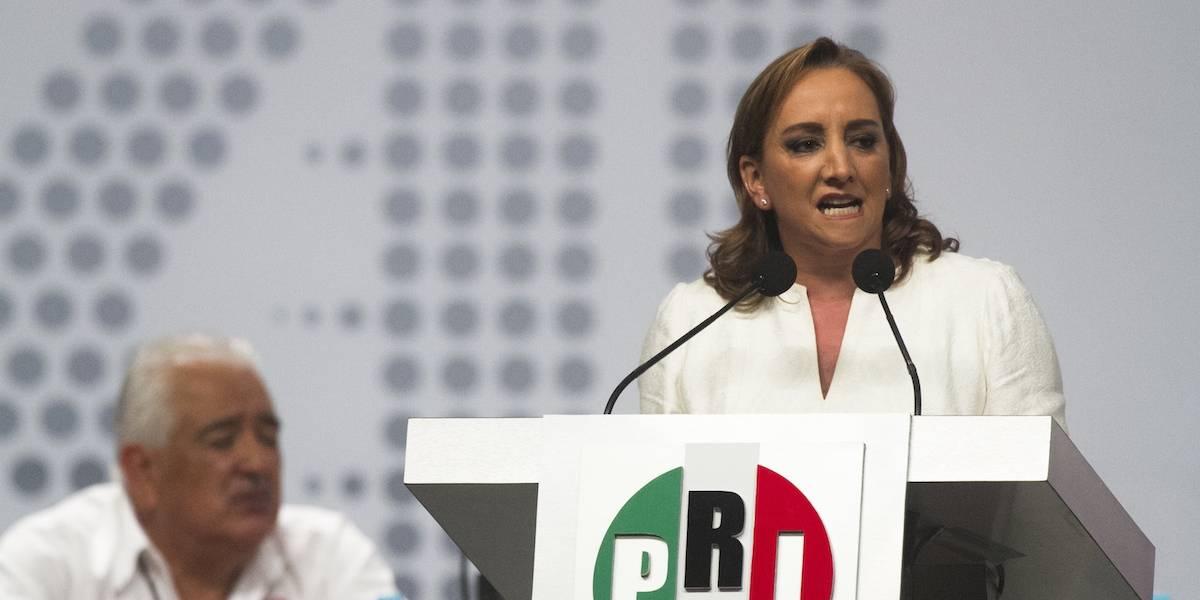 Ruiz Massieu toma posesión como presidenta del PRI Nacional