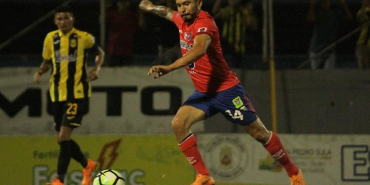 Ávila le da el empate a los Rojos en Honduras