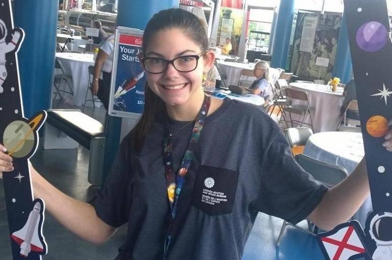 Alyssa Carson, la adolescente de 17 años que podría estar entre las primeras personas en pisar Marte