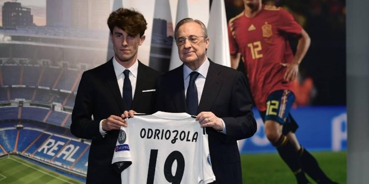 Real Madrid presenta a Álvaro Odriozola como su nuevo fichaje
