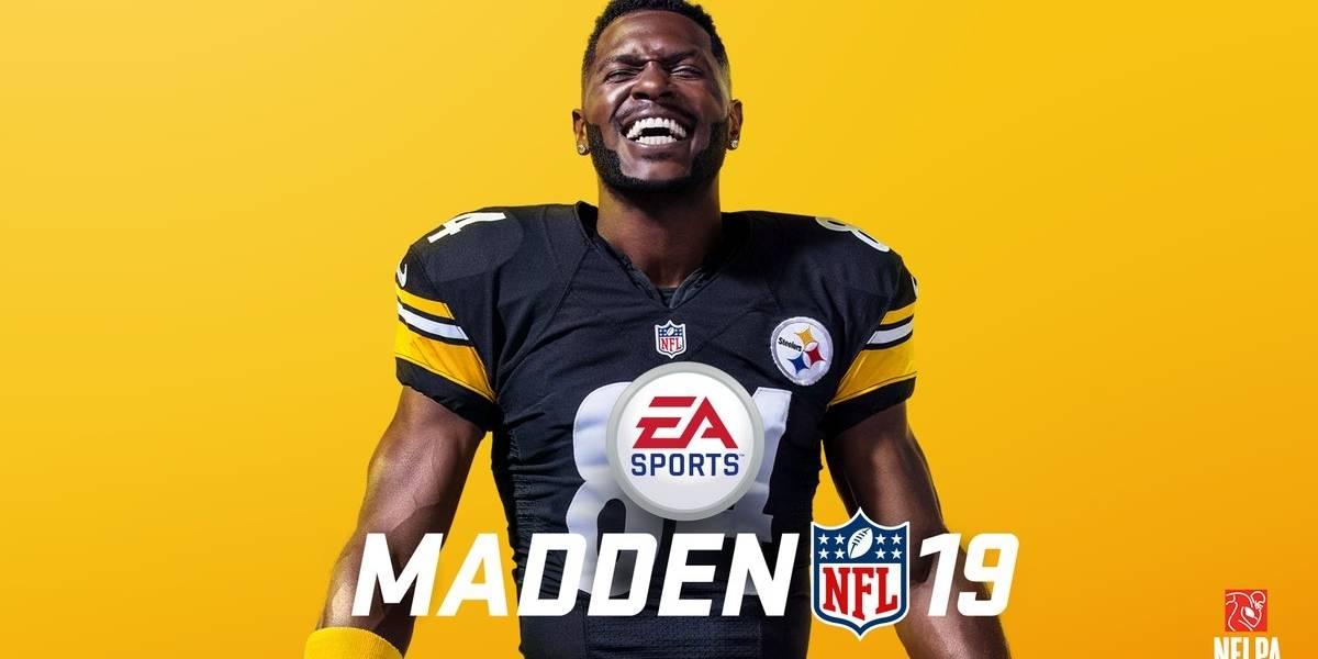 Antonio Brown, el elegido para aparecer en la portada de Madden NFL 19