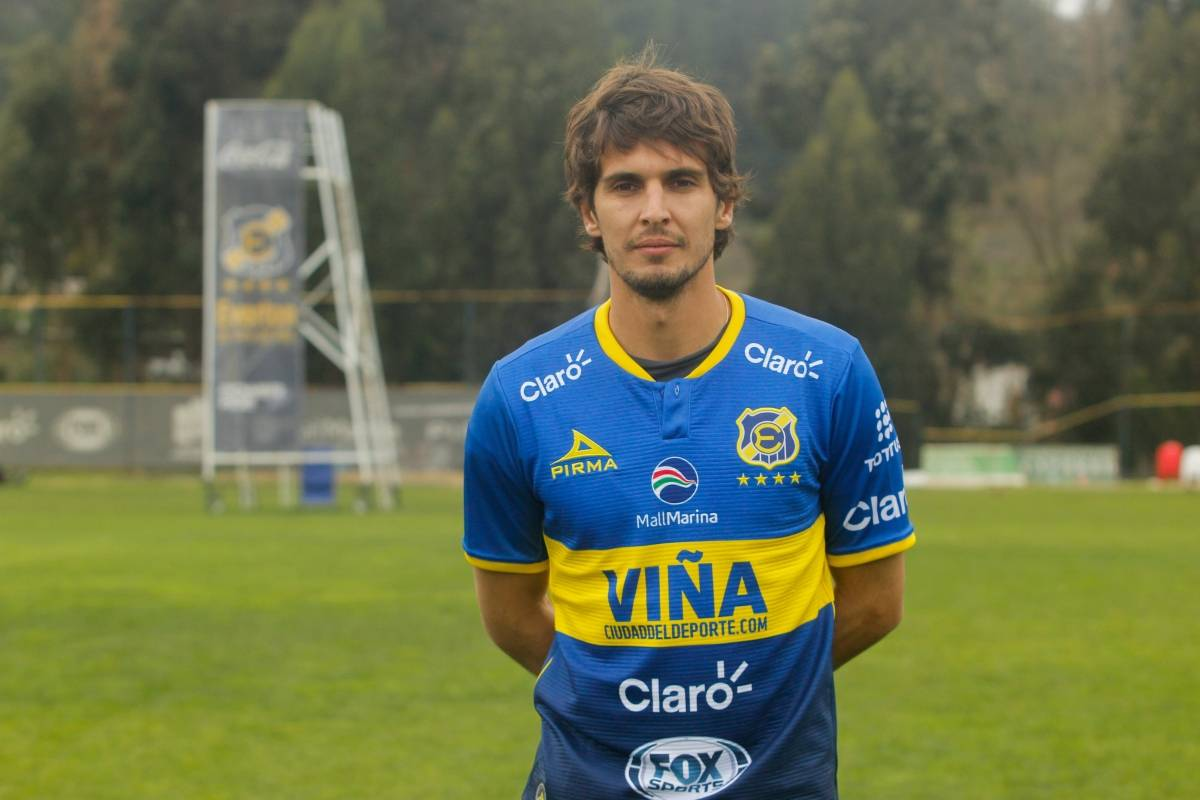 Lucas Domínguez (Everton) Agencia UNO