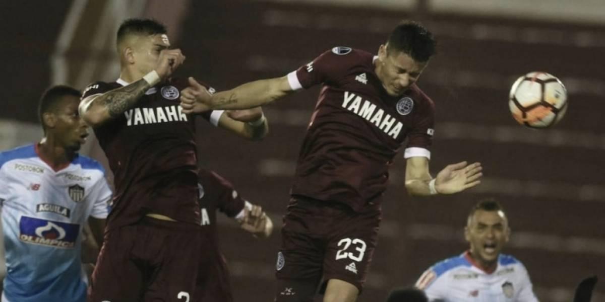 Junior cayó ante Lanús en la visita por la Copa Sudamericana