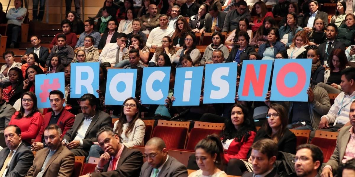 OIM, Alcaldía de Bogotá y Chocquibtown presentan campaña contra el racismo