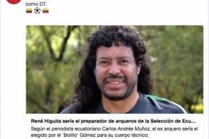 René Higuita podría trabajar con El Bolillo Gómez en la Selección de Ecuador