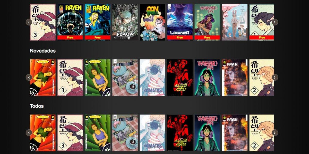 """Al estilo gringo: Así funciona Gutter, el """"Netflix"""" del cómic chileno"""