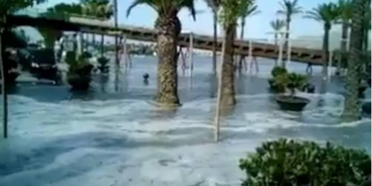 Mallorca y Menorca inundadas: Mini-tsunamis causan estragos en las Islas Baleares