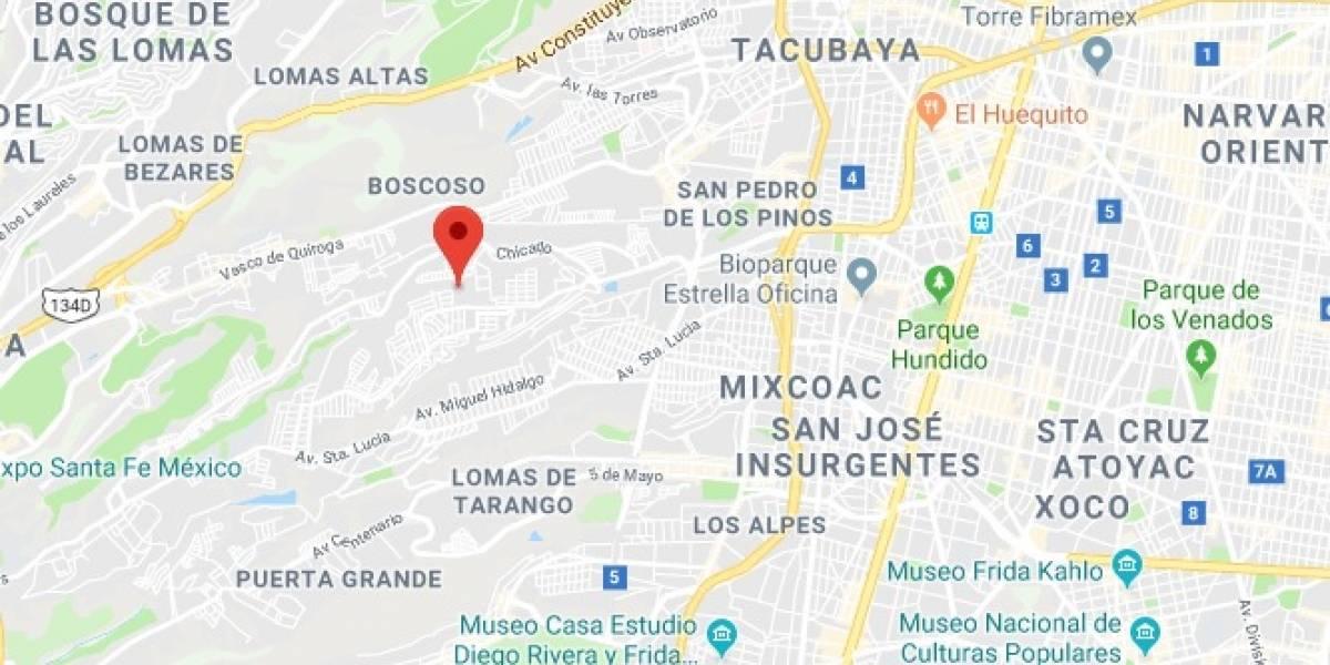 Reportan sismo magnitud 2.5 en la Álvaro Obregón