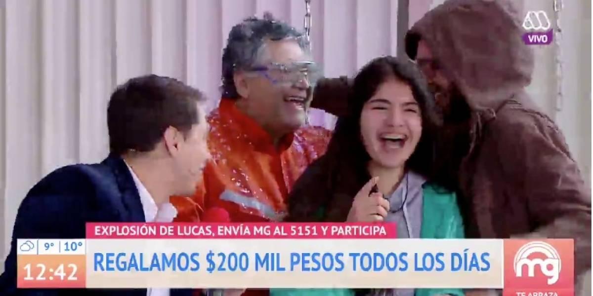 """El divertido chascarro que dejó concurso de Karol Lucero en """"Mucho Gusto"""""""