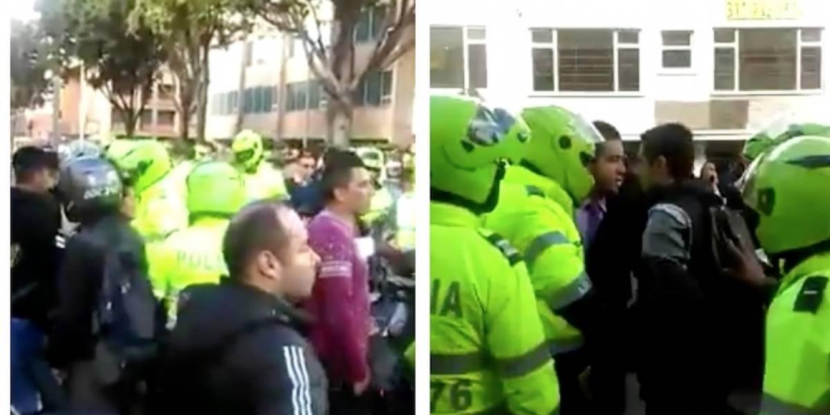 Videos: grave situación de orden público en el norte de Bogotá