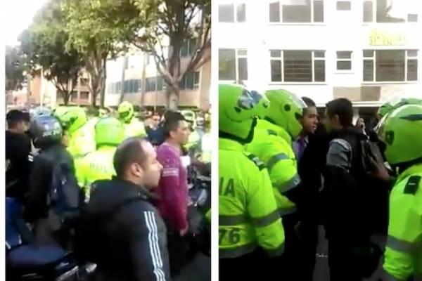 grave situación de orden público en el norte de Bogotá