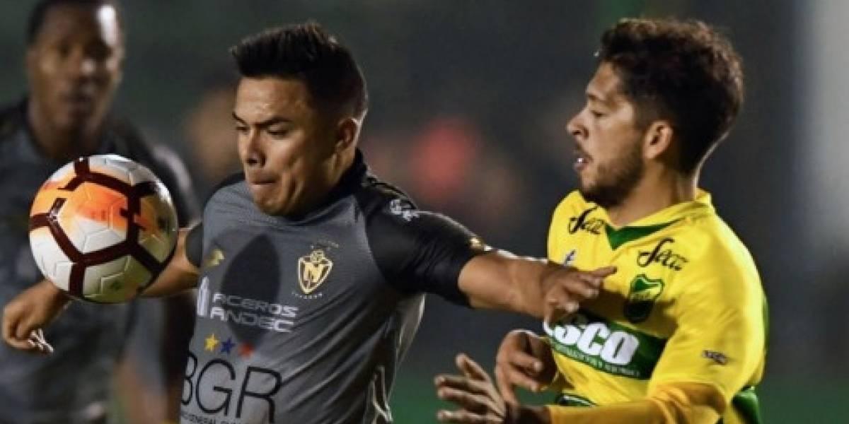 Copa Sudamericana: El Nacional perdió ante Defensa y Justicia