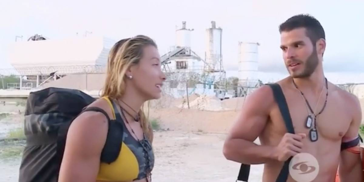 ¡Beso en el Desafío Súper Humanos! El romance de estos dos participantes encendió las redes