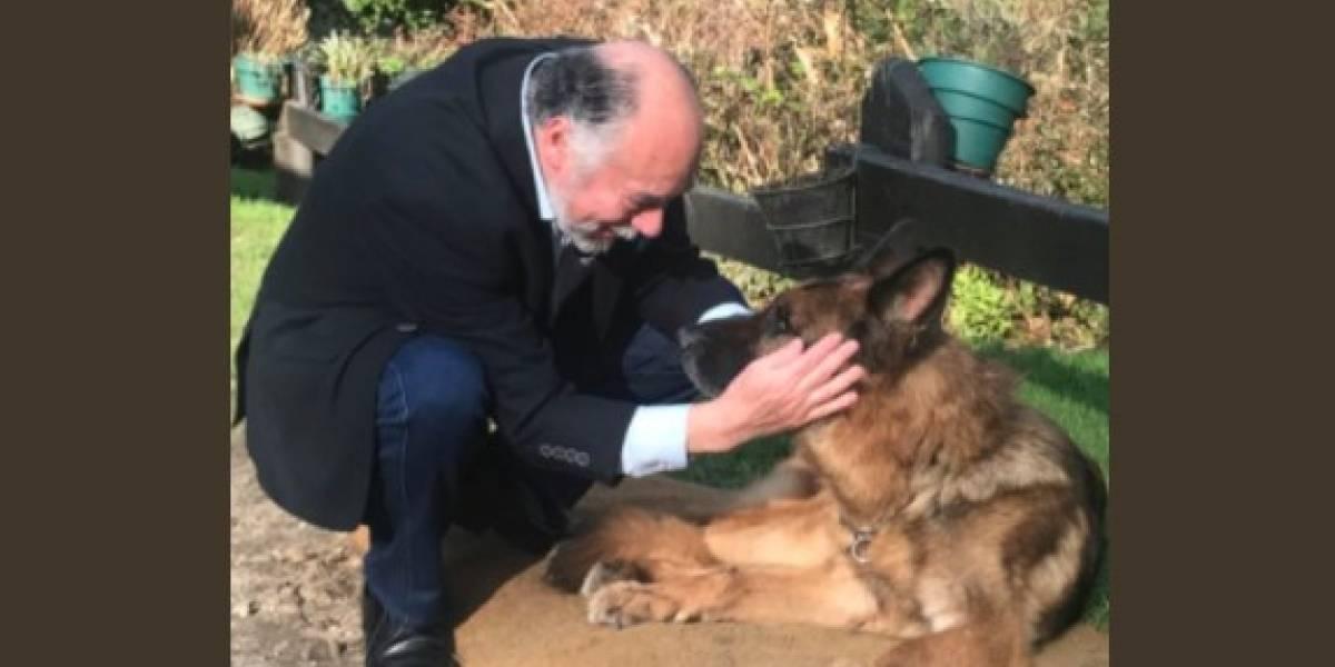 """""""Él sabía y yo sabía que nos estábamos despidiendo en serio"""": el emotivo adiós del diputado Iván Flores a su mejor amigo y querida mascota Dark"""