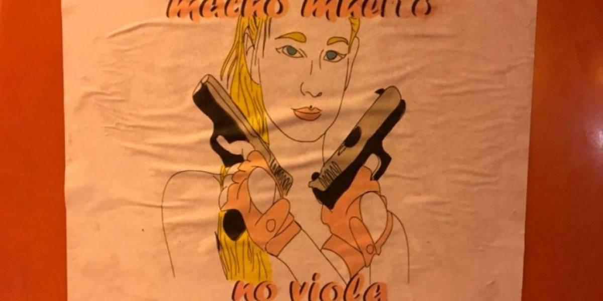"""""""Macho muerto no viola"""": los polémicos carteles en apoyo a Nahir Galarza que aparecen en Argentina"""