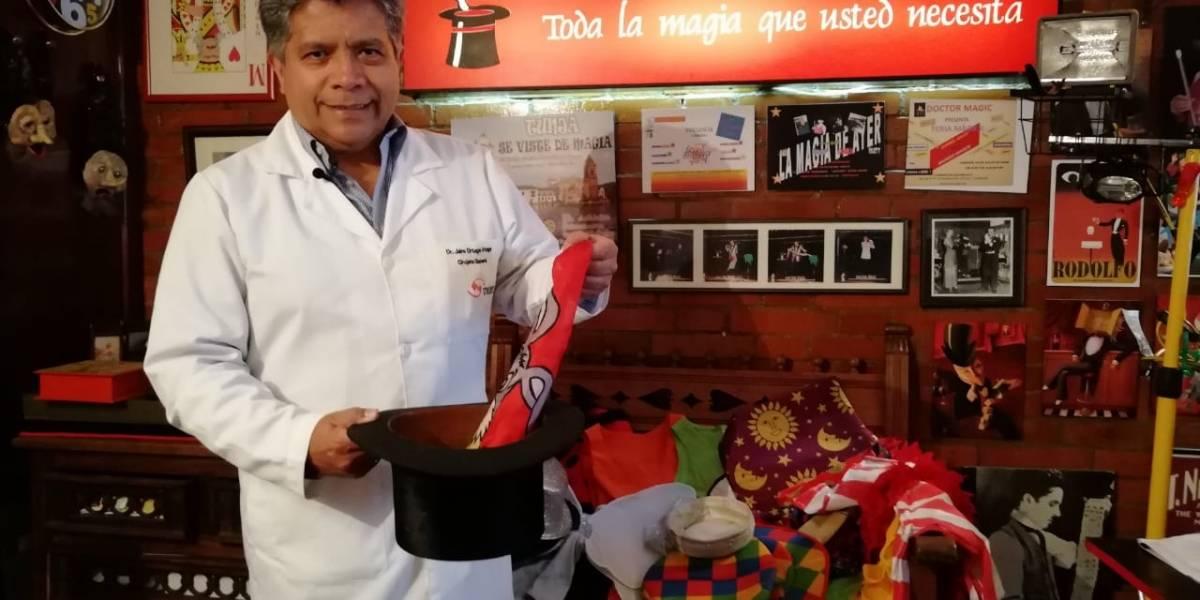 'Doctor Magic': el cirujano que nació para alegrar corazones con magia