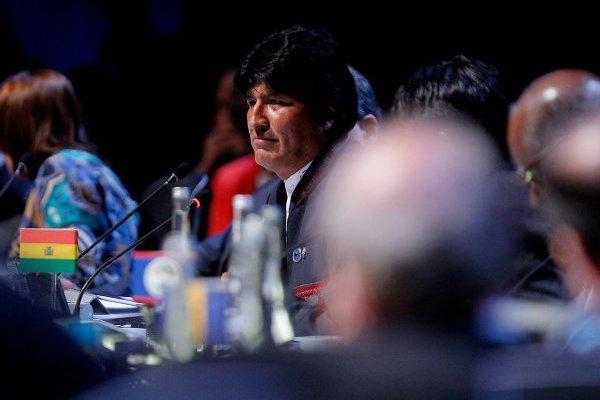 """Evo Morales dijo erróneamente que """"aprobaron mar para Bolivia"""""""