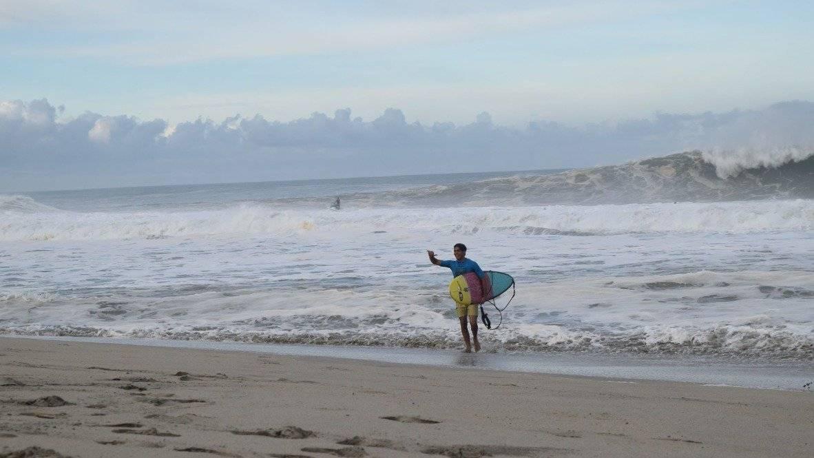Gary Linden es el director Surf Open League que se ha realizado en México |SOFIA YAÑEZ