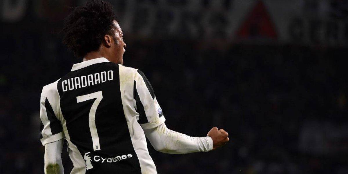 Crack: el ejercicio matemático que hizo Juan Cuadrado para su nueva camiseta en Juventus tras ceder el 7 a Cristiano