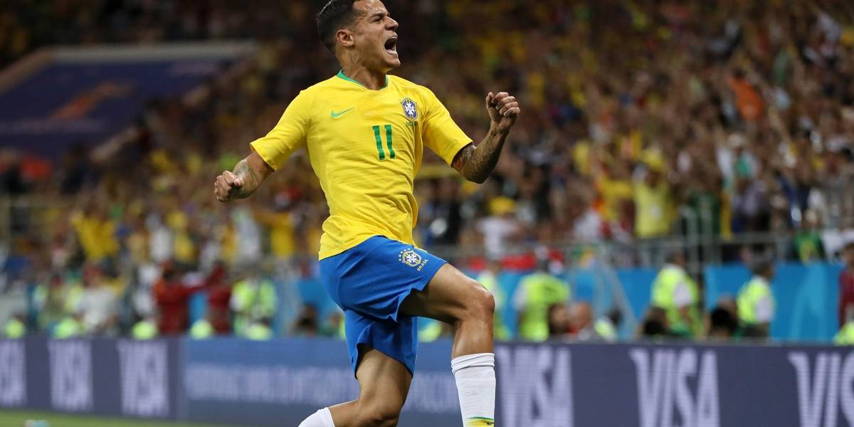 Gol de Philippe Coutinho concorre a mais bonito da Copa do Mundo; veja como votar
