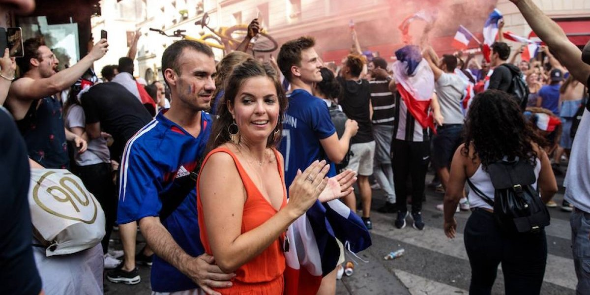 Francesas denuncia en Twitter abuso sexual durante la final del Mundial