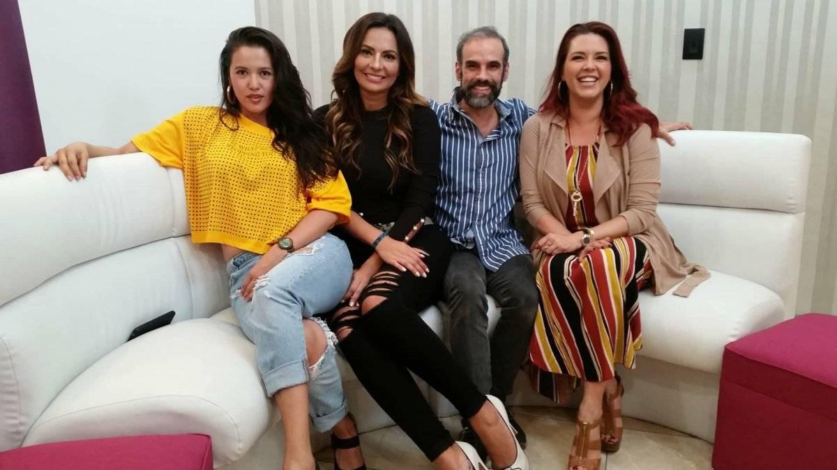 """Ana Nolasco, Cecilia Galliano y Alicia Machado son parte de la comedia """"Goodbye... Charlie"""", que se presentará el viernes 20 de julio en la ciudad de Guatemala. Foto: David Lepe Sosa"""