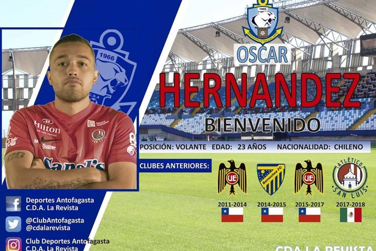 Oscar Hernández (Antofagasta)