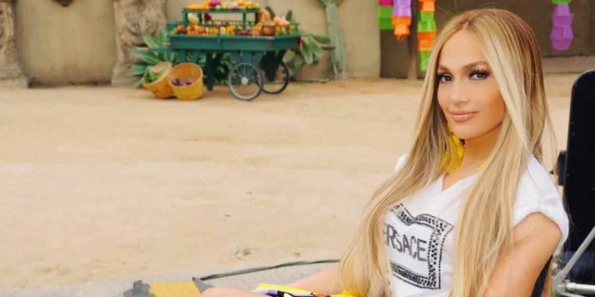 Jennifer López sorprende al publicar video en el que recibe una cachetada