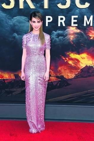 La actriz china Hannah Quinlivan. |getty