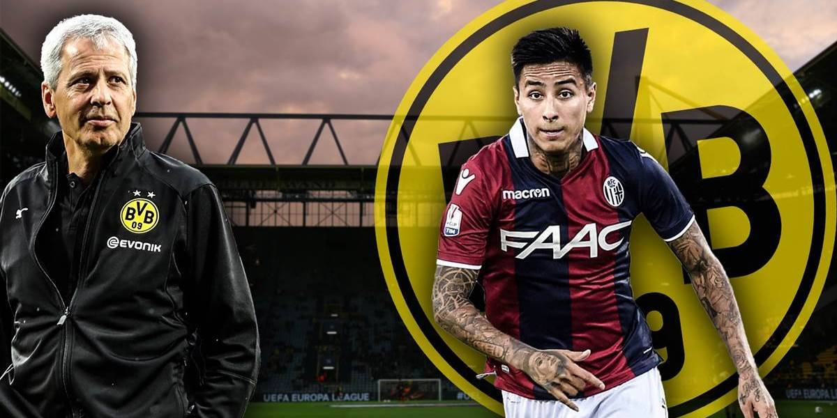 Bombazo: Erick Pulgar despierta el interés ni más ni menos que de Borussia Dortmund
