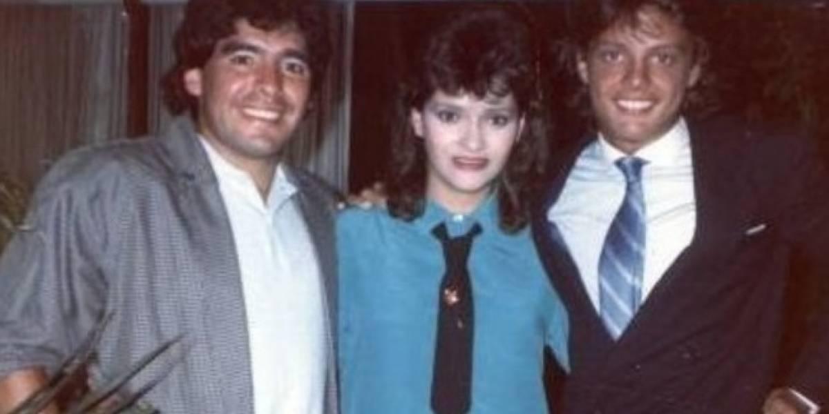 El encuentro y desencuentro de Luis Miguel con Maradona