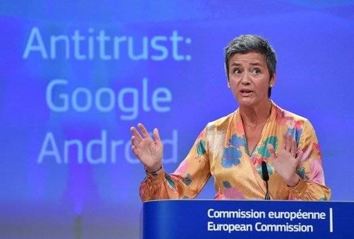 Margrethe Vestager de la Comisión de Competencia de la UE