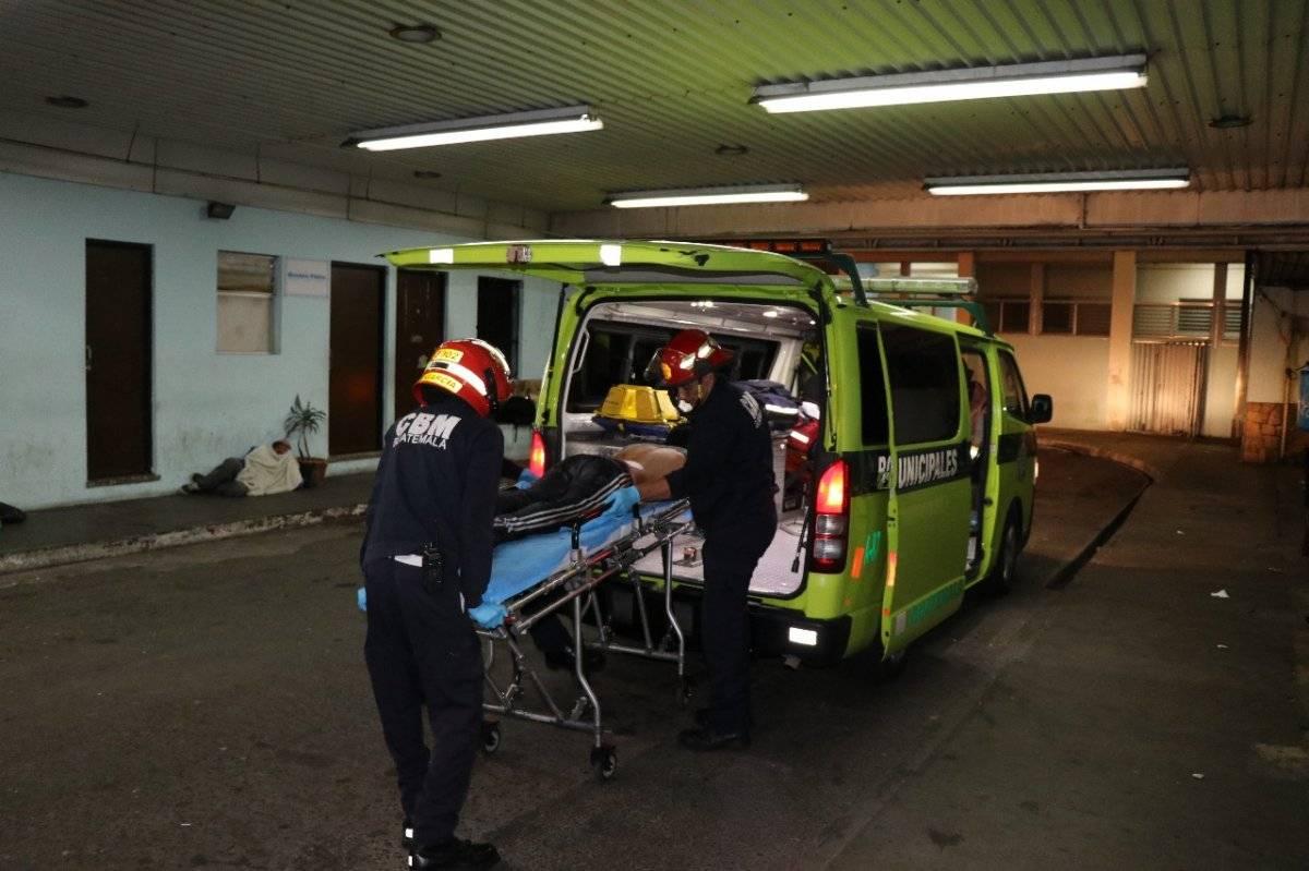 menor herido de bala en Atlántida, zona 18