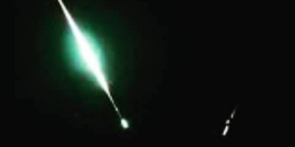 Caída de meteorito sorprende a habitantes de Puebla