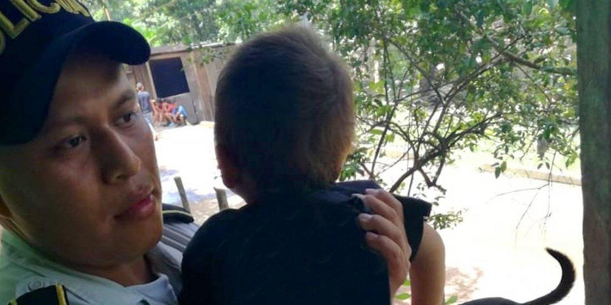 PGN rescata tres hermanos que se presume eran víctimas de maltrato