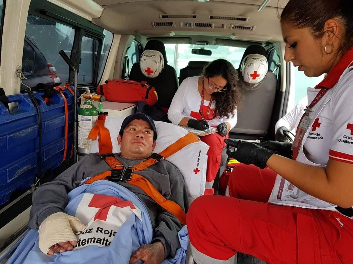 último paciente quemado por la erupción del volcán de Fuego regresa de México