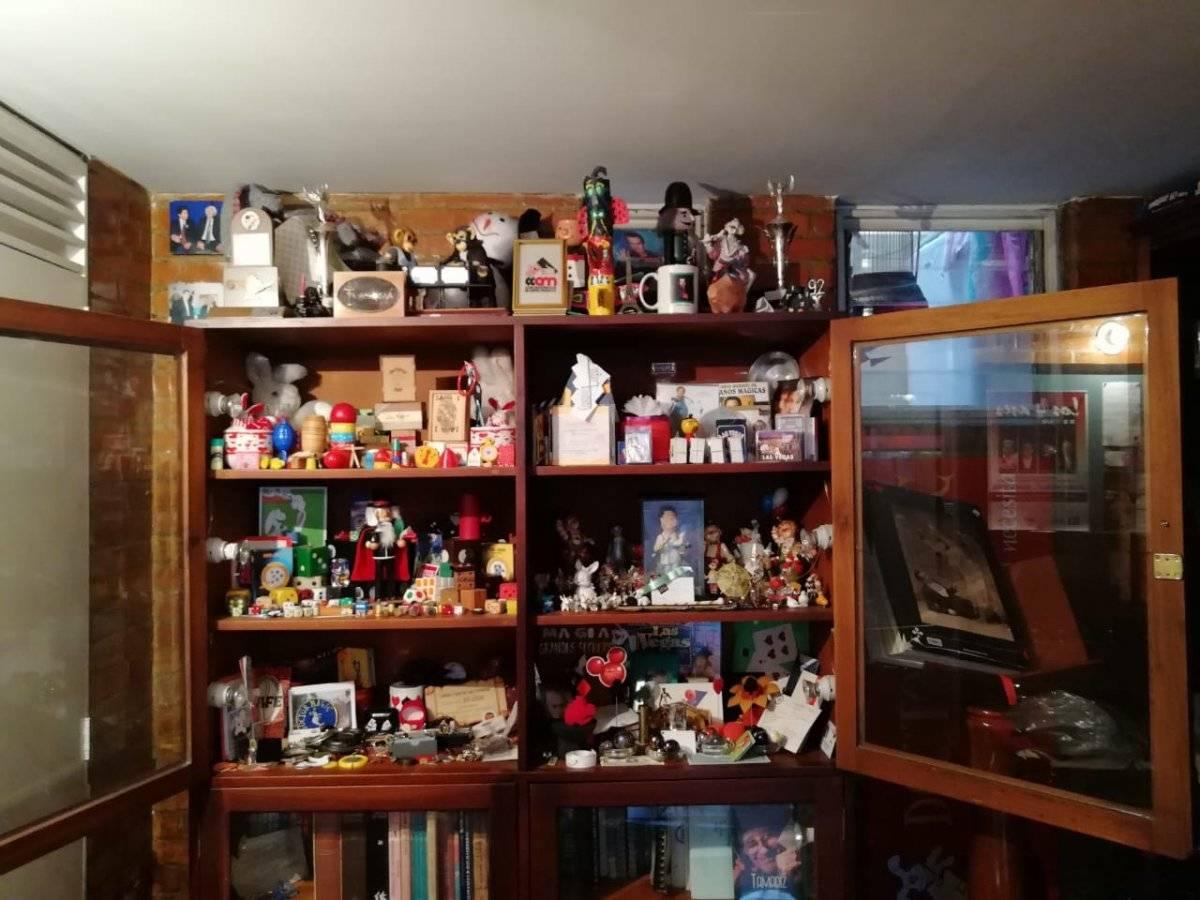 Estos son los objetos que guarda el Doctor Magic en el sótano de su casa. María Paula Suárez - Publimetro.