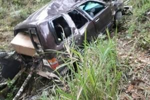 Dos fallecidos y tres heridos tras un accidente de tránsito en Piñas