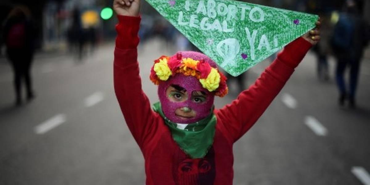 Argentina y los pañuelos verdes para apoyar la legalización del aborto