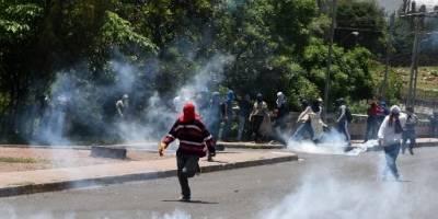 Bloqueos por el precio de la gasolina en Honduras