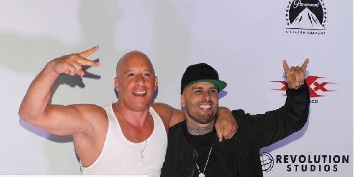 Nicky Jam sorprende a Vin Diesel por su cumpleaños