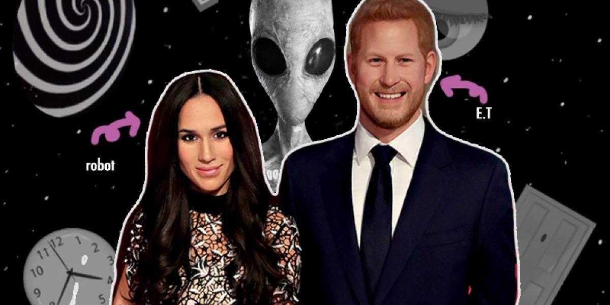 5 extrañas teorías de conspiración sobre el matrimonio de Meghan Markle y el príncipe Harry