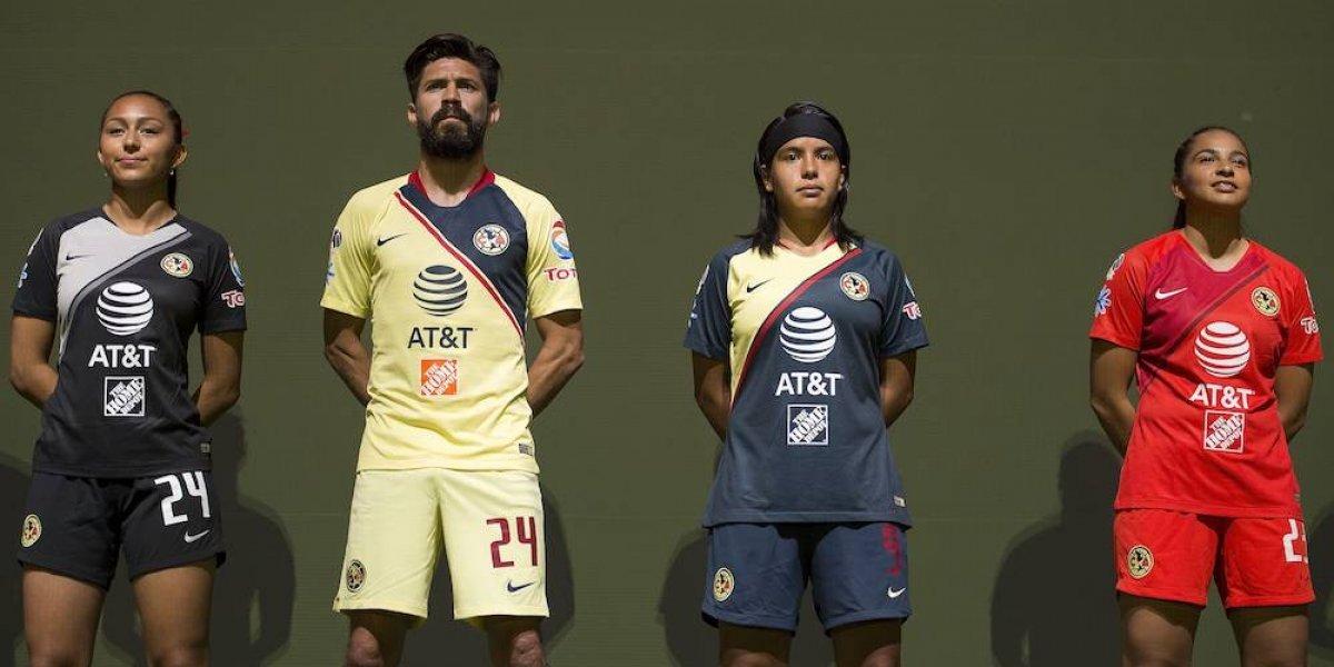 América presenta su nueva piel para el Apertura 2018