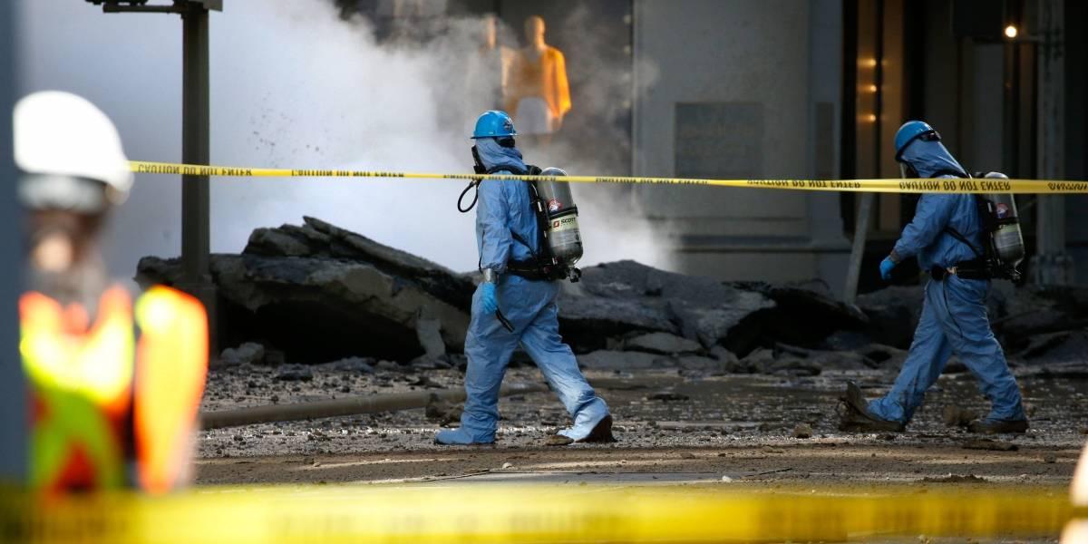 Prédios em Nova York são esvaziados após explosão causada por vapor