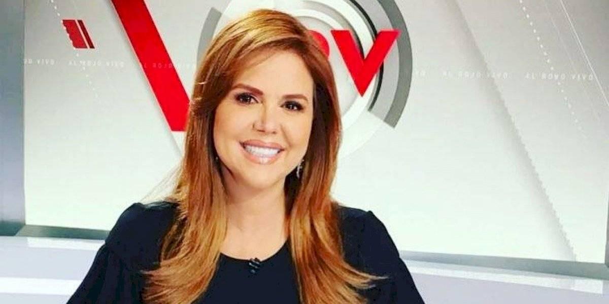 María Celeste Arrarás continúa labor periodística tras ser despedida de Al Rojo Vivo