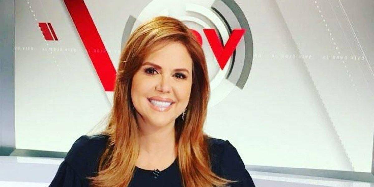 A lágrima viva María Celeste Arrarás por gesto de excompañeros de Telemundo