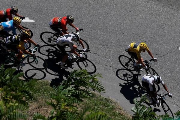 Clasificación de la etapa 12 del Tour de Francia 2018